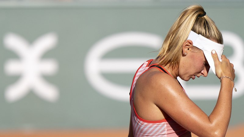 Tennis – Tournoi d'Auckland: Jil Teichmann s'incline en huitième de finale