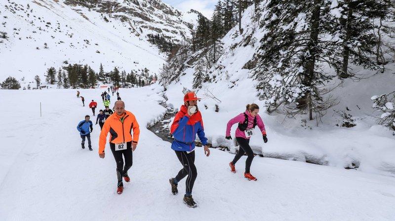 Les trails blancs plus colorés que jamais