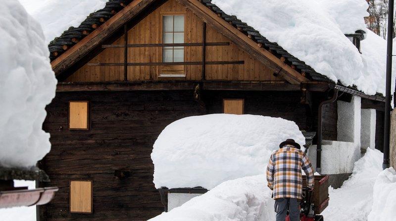 Météo: grosses chutes de neige attendues jusqu'en plaine en Valais et dans le Jura