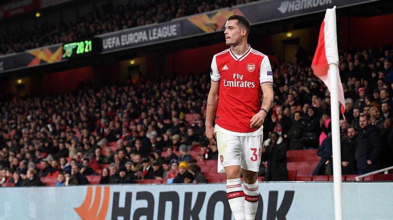 Football: l'entraîneur Mikel Arteta veut que Granit Xhaka reste à Arsenal