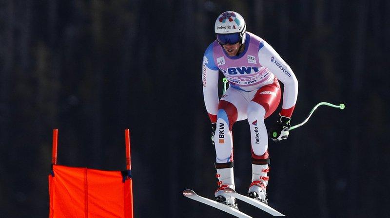 Ski alpin: Marc Gisin renonce aux épreuves de Beaver Creek