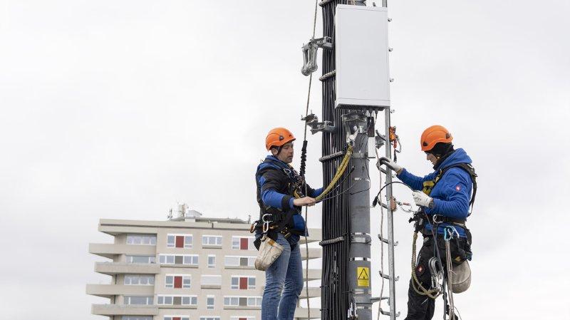 Télécommunications: le canton de Vaud interdit la construction de nouvelles antennes 5G