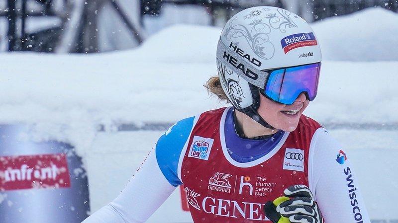 La native de Schwytz est la patronne de la vitesse dans le camp suisse.