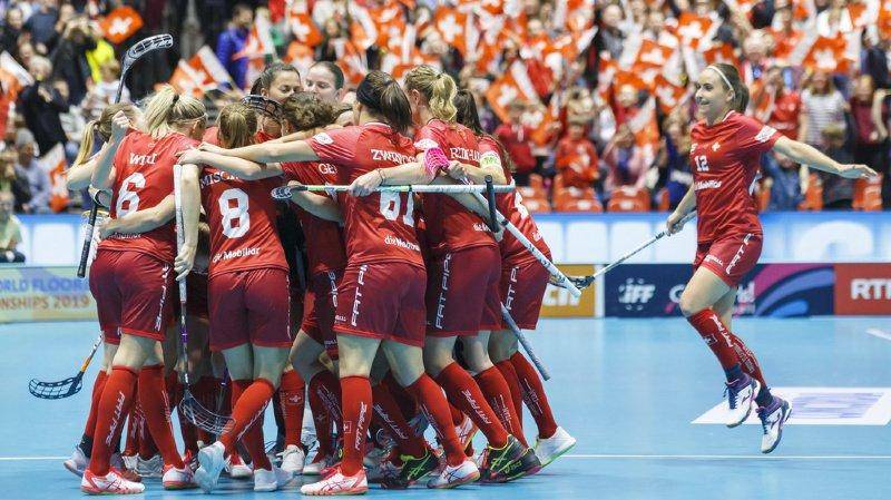 Mondiaux d'unihockey féminin: les Suissesses en demi-finales à Neuchâtel
