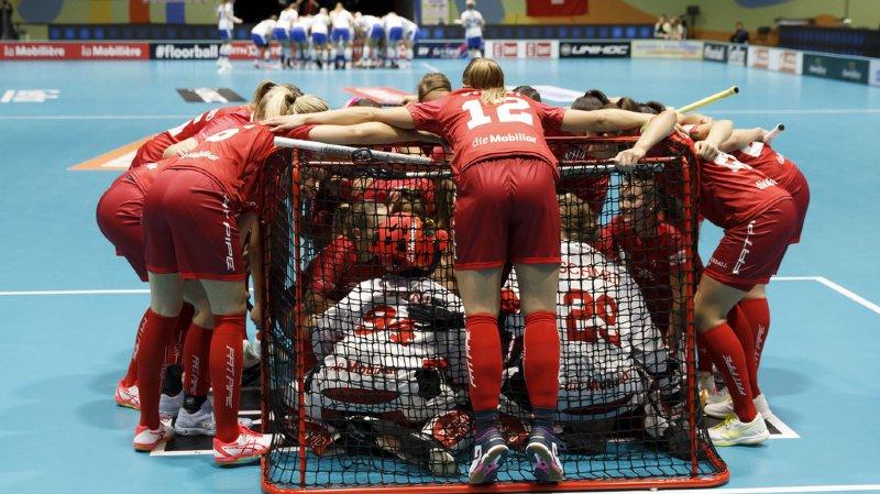 Mondiaux d'unihockey féminin: la Suisse battue 3-2 par la Suède en prolongation