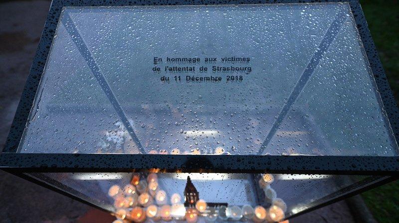 France: hommage aux victimes de l'attentat du marché de Noël de Strasbourg
