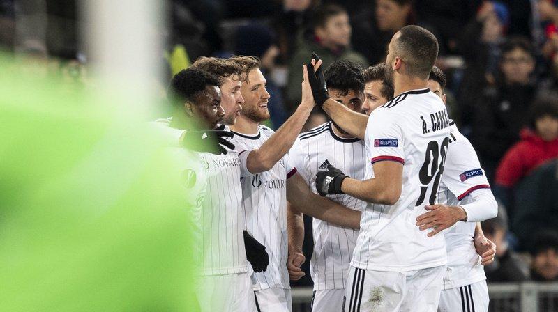 Football - Europa League: le FC Bâle affrontera l'Apoel Nicosie en seizièmes de finale