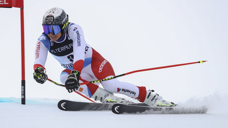Ski alpin: Wendy Holdener 5e provisoire du géant de Courchevel