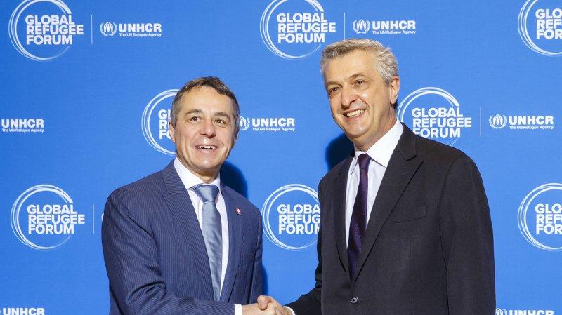 Forum mondial sur les réfugiés: des centaines d'engagements et 7,7 milliards de francs