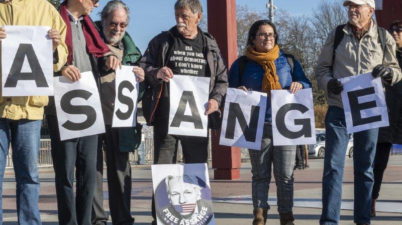 Wikileaks: à Genève, on réclame l'asile pour Julian Assange