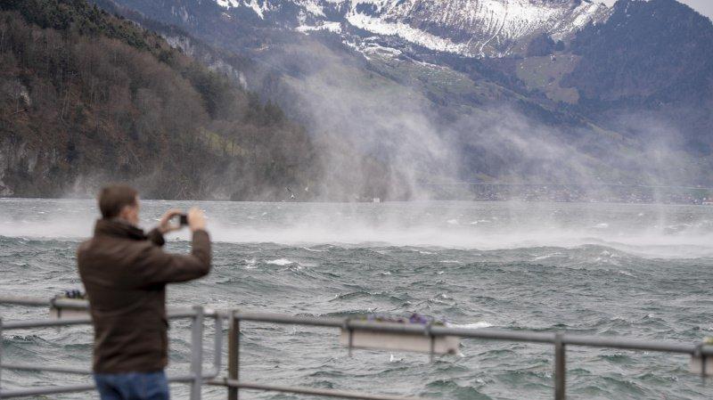 Le foehn a réchauffé la Suisse en ce début d'hiver.