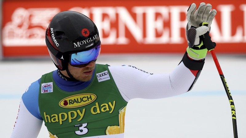 Ski alpin: Meillard, Murisier et Caviezel qualifiés pour les seizièmes du géant parallèle d'Alta Badia