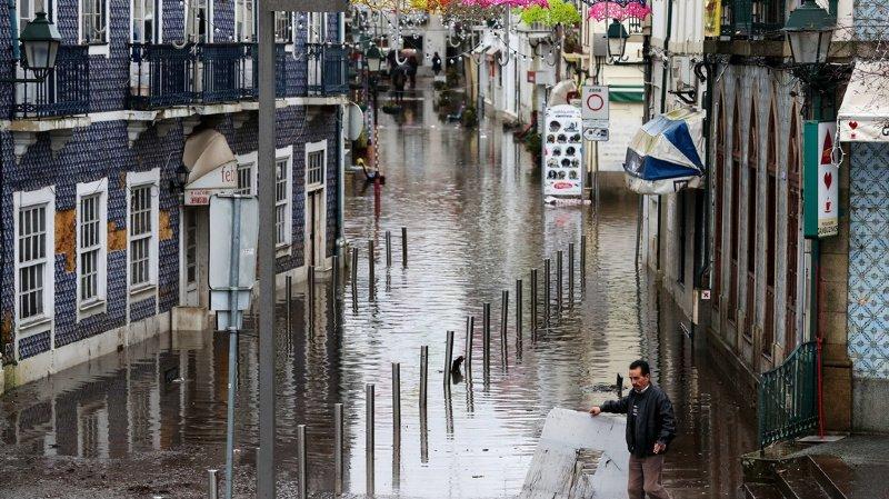 Espagne/Portugal: la tempête Elsa fait au moins 5 morts
