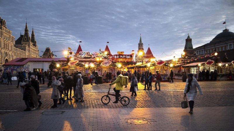 Météo en Russie: à Moscou, l'hiver est porté disparu