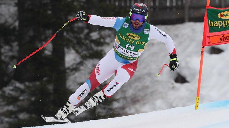Ski alpin: Beat Feuz souffre d'une fracture de la main gauche, opération pas nécessaire