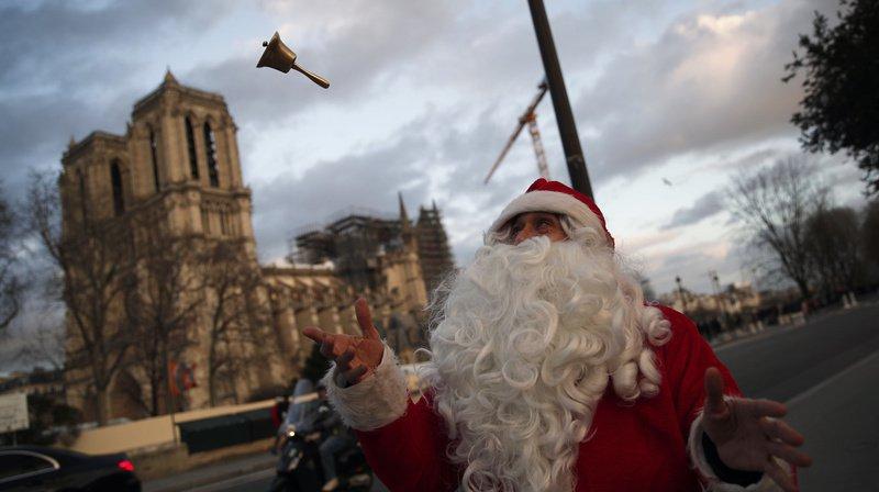 Paris: pour la première fois depuis plus de 2 siècles, aucune messe de Noël n'est donnée à Notre-Dame