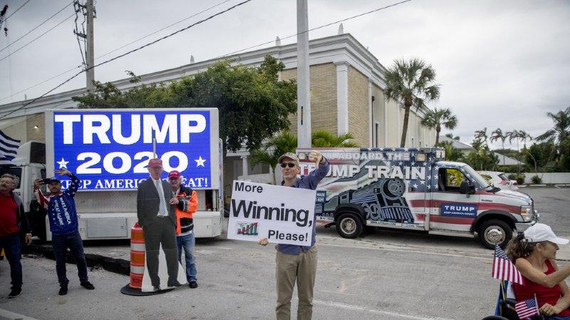 Etats-Unis: Trump lève plus de fonds que ses rivaux démocrates pour sa campagne