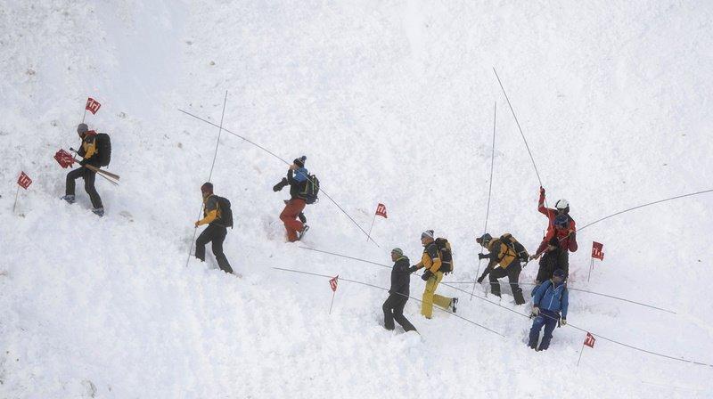 Avalanche à Andermatt: la piste de ski a rouvert