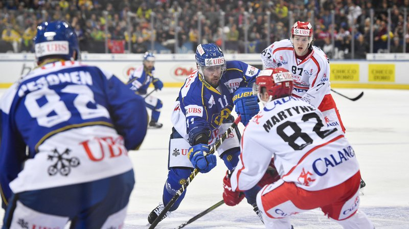 Hockey – Coupe Spengler: Davos perd 4-1 contre les Tchèques