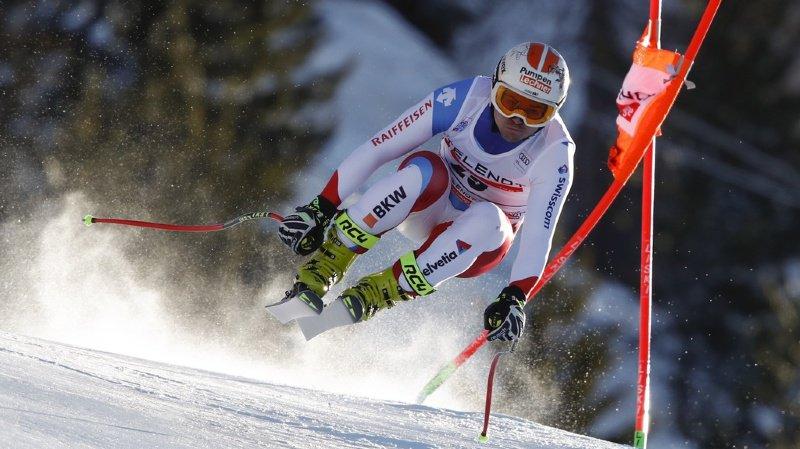 Ski alpin: les Suisses Urs Kryenbühl et Beat Feuz sur le podium de la deuxième descente de Bormio
