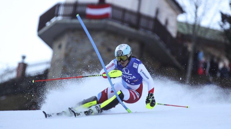 Ski alpin: Wendy Holdener 7e et Michelle Gisin 8e après la première manche du slalom de Lienz