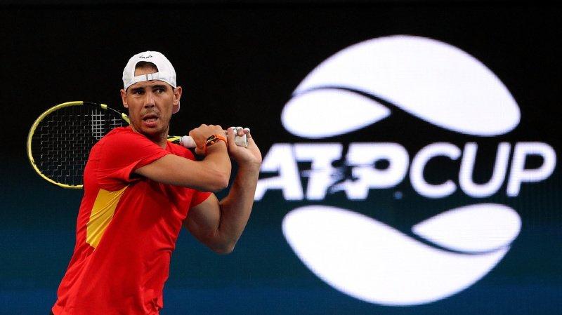 Rafael Nadal et Novak Djokovic sont présents, mais pas Roger Federer.