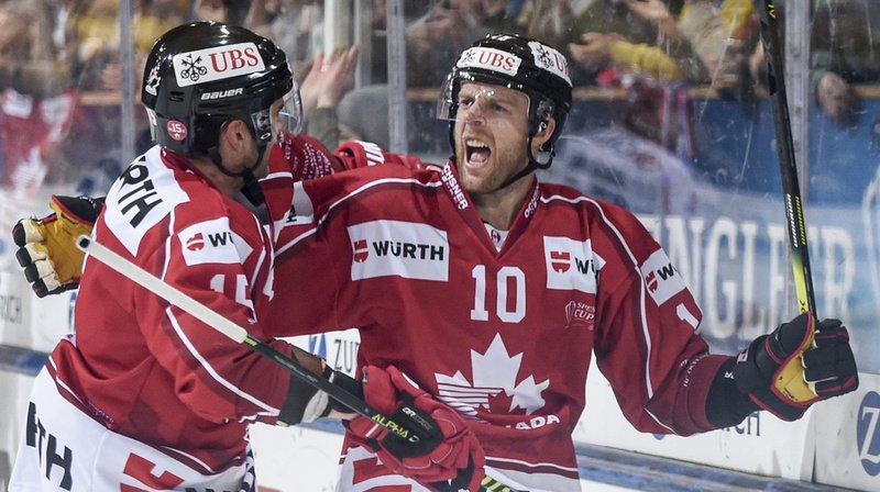 Hockey: la Team Canada remporte la Coupe Spengler