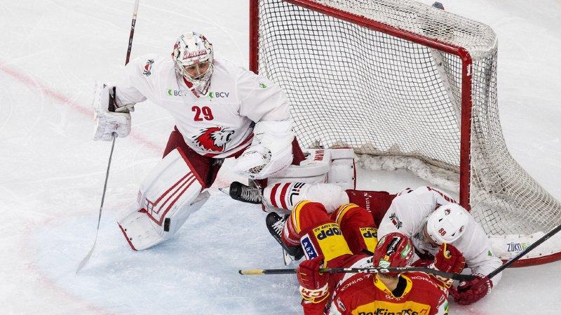 Hockey: Genève domine Zoug, le LHC bat Bienne et Fribourg s'incline à Lugano