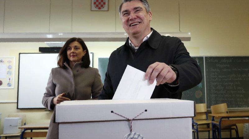 A 53 ans, Zoran Milanovic est élu président de la Croatie.