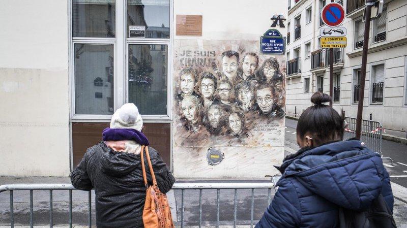 France: hommage aux victimes des attentats de Charlie Hebdo cinq ans après