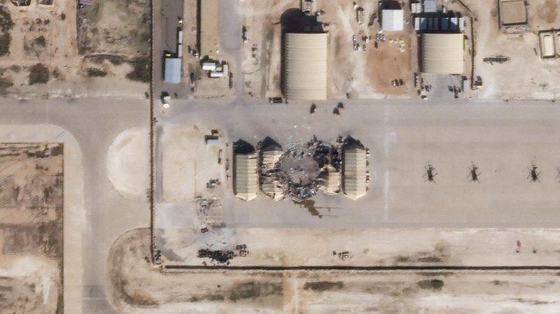 Dimanche dernier, une base aérienne avait déjà été la cible de huit roquettes. (Illustration)