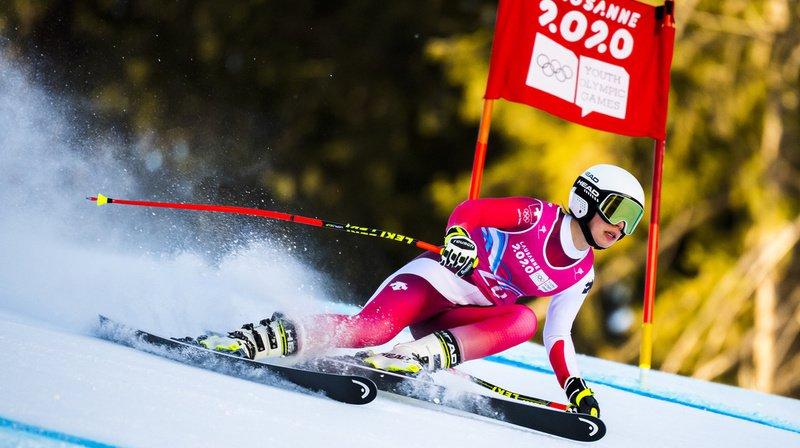 JOJ 2020: Amélie Klopfenstein, de La Neuveville, remporte l'or olympique en Super G