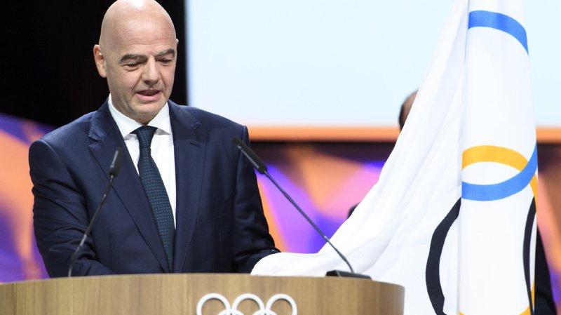 Sur les 79 membres du CIO ayant droit de vote, Gianni Infantino a recueilli 63 voix en faveur de son élection.