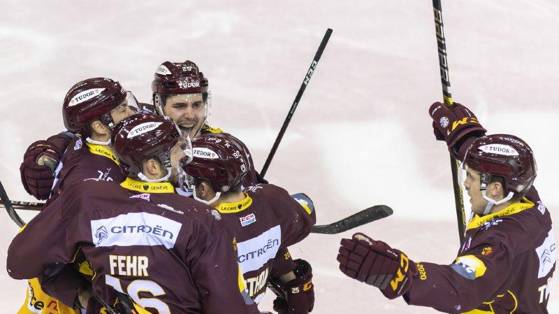 Hockey: Genève tient son rang de leader en faisant tomber Berne à domicile