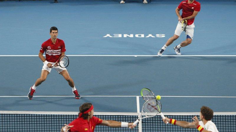 Tennis - ATP Cup: la Serbie de Djokovic bat l'Espagne de Nadal en finale