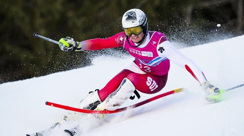 Luc Roduit démontre qu'il est à l'aise dans toutes les disciplines avec une troisième médaille en quatre courses.