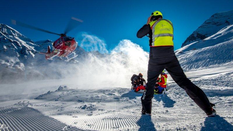 Valais: Air-Glaciers a effectué 270 sauvetages durant les Fêtes