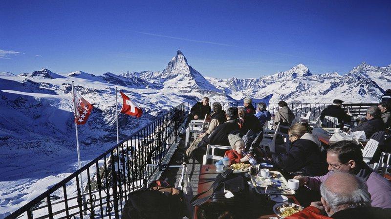 En Valais, les touristes et les locaux profitent d'une météo radieuse depuis la fin du mois de décembre. (illustration)