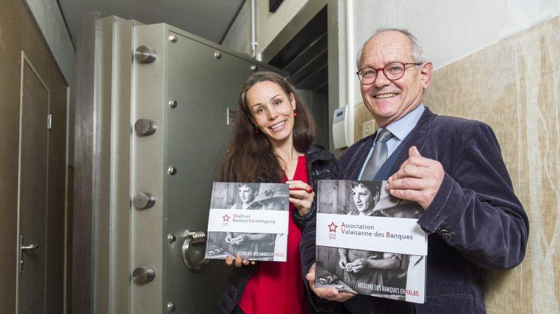 Un livre pour retracer l'histoire des banques en Valais