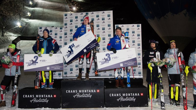 Daniel Yule remporte le slalom d'Adelboden