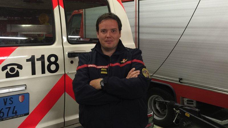 Sierre: le nom du nouveau commandant des pompiers est connu