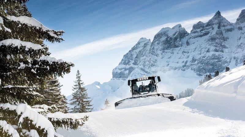L'ouverture complète du domaine skiable est prévue pour le 21 décembre.