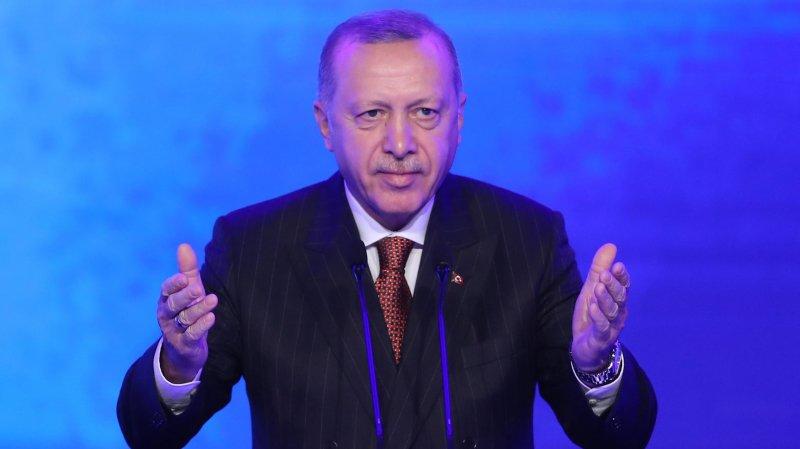 Merkel, Johnson et Macron avec Erdogan sur la Syrie