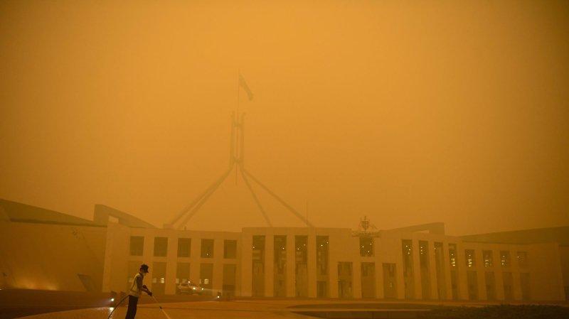 L'Australie en flammes