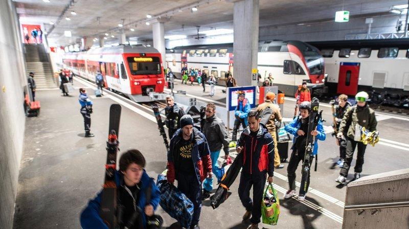 Le «Verbier Express»: une nouvelle liaison directe entre l'Arc lémanique et Le Châble