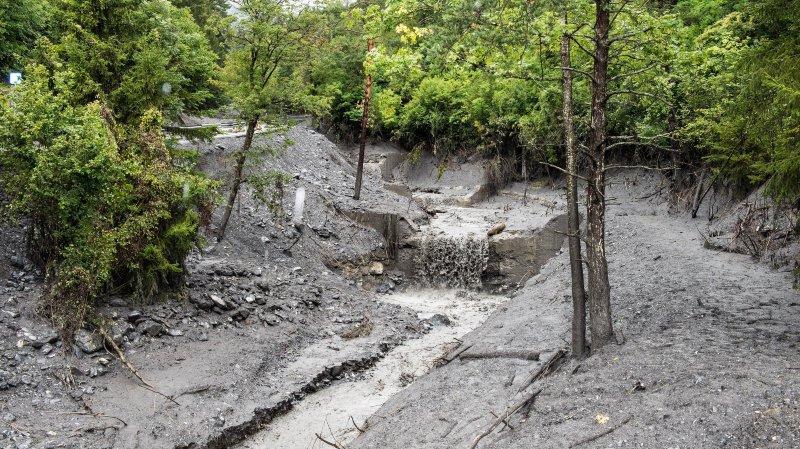 Les dégâts de la lave torrentielle qui s'est abattue sur Chamoson se chiffrent à 7,7 millions