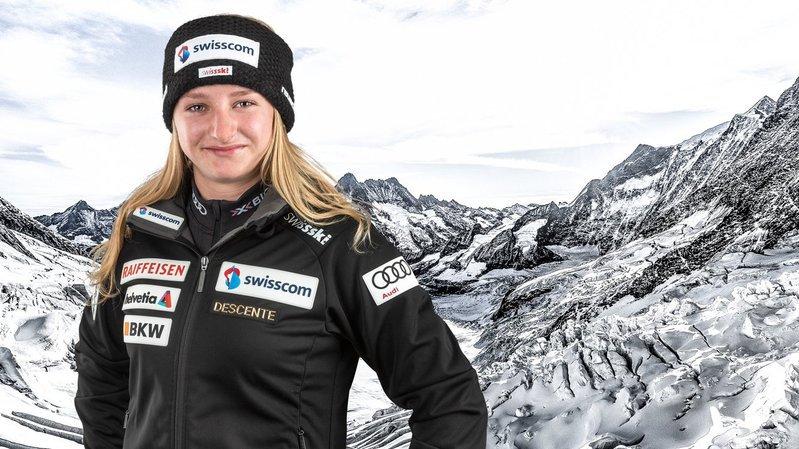 JOJ: la skieuse Lena Volken n'a pas vu l'arrivée lors du super-G