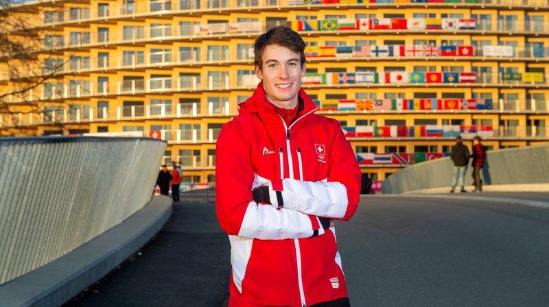 Ski alpin: Luc Roduit, aux JOJ, est prêt à assurer la relève des slalomeurs valaisans