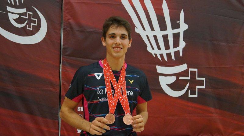 Alexandre Briguet collectionne les médailles depuis quelques années.