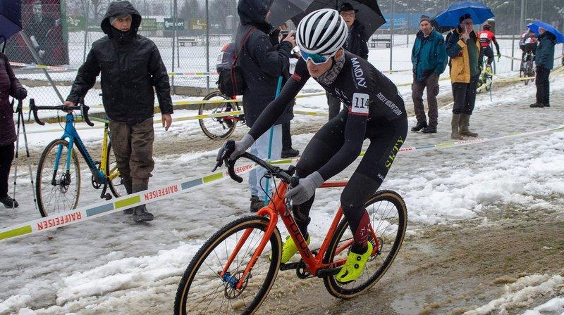Cyclocross: Gilles Mottiez termine septième du championnat de Suisse à Baden